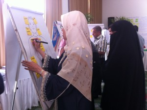 Drawing the great trainer-facilitator Egypt